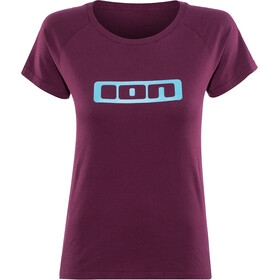 ION Logo T-shirt Dames, pink isover